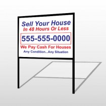 Sell Your House 152 H-Frame Sign