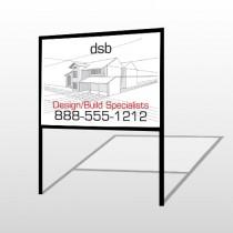 Builder 35 H Frame Sign