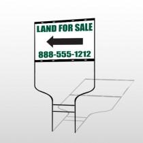 Land 23 Round Rod Sign