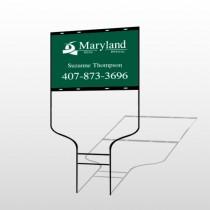 Maryland 6 Round Rod Sign