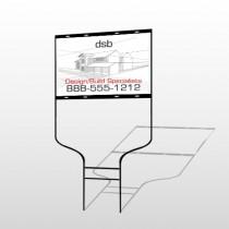 Builder 35 Round Rod Sign