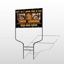 Tiger Landing 303 Round Rod Sign