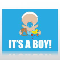It's A Boy  Sign Panel