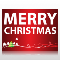 Merry Christmas Sign Panel