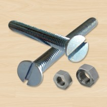 """Hardware Kit for U-Channel posts (Qty 2, 21/2"""" x 5/16 Bolts with Nuts)"""