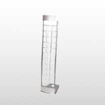 Innovate Literature Rack Silver