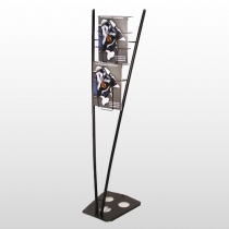 Victory Literature Rack Black