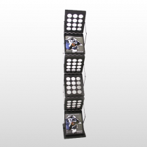 Zedup 1 Literature Rack Black