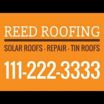 Reed Roofing
