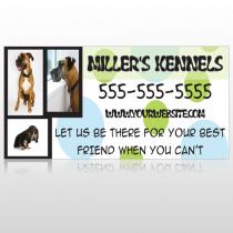 Dog Kennels 300 Site Sign