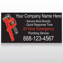 Monkey Wrench 257 Custom Sign