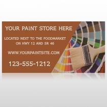 Paint Brushes 256 Site Sign