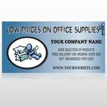 Paper & Figure 146 Custom Sign
