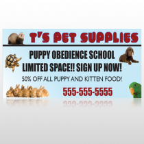 Pet Supplies 305 Custom Sign
