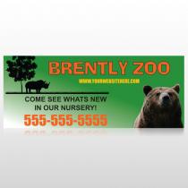 Bear Zoo 302 Custom Banner