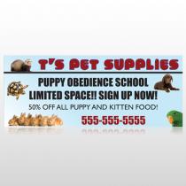 Pet Supplies 305 Custom Banner