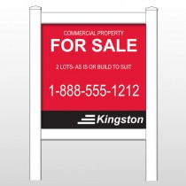 "Kingston 459 48""H x 48""W Site Sign"