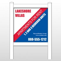 "Lakeshore 443 48""H x 48""W Site Sign"