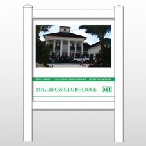 "Milliron 492 48""H x 48""W Site Sign"