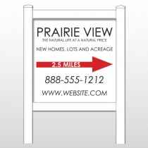"Prairie 491 48""H x 48""W Site Sign"
