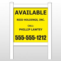 "Reid 460 48""H x 48""W Site Sign"