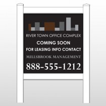 "Rivertown 496 48""H x 48""W Site Sign"