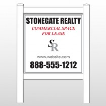 "Stonegate 466 48""H x 48""W Site Sign"