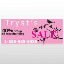 Bird Branch Sale 08 Custom Banner