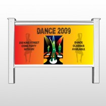 "Dance Disco 518 48""H x 96""W Site Sign"