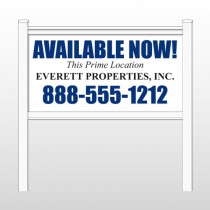 "Everett 435 48""H x 96""W Site Sign"