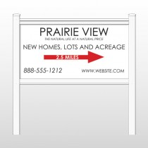 "Prairie 491 48""H x 96""W Site Sign"