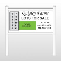 "Quigley 481 48""H x 96""W Site Sign"