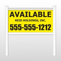 "Reid 460 48""H x 96""W Site Sign"