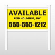 "Reid 460 48""H x 96""W Site Sign"