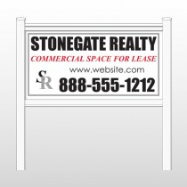 "Stonegate 466 48""H x 96""W Site Sign"