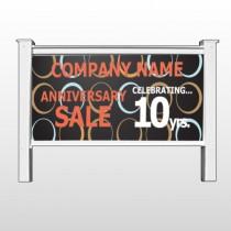 "Anniversary Sale 14 48""H x 96""W Site Sign"