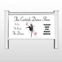"Ballet Dance 517 48""H x 96""W Site Sign"
