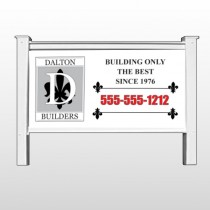 "Builder 34 48""H x 96""W Site Sign"