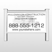 "Builder 36 48""H x 96""W Site Sign"