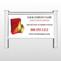 "CD & Graph 147 48""H x 96""W Site Sign"