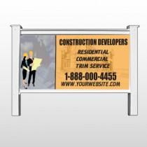 "Contractors 645 48""H x 96""W Site Sign"