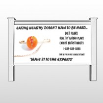 """Disguise Apple 403 48""""H x 96""""W Site Sign"""