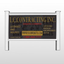 "Faded House 500 48""H x 96""W Site Sign"