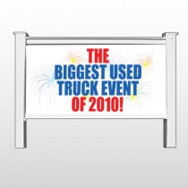 "Fireworks 118 48""H x 96""W Site Sign"