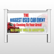 "Fireworks Car 111 48""H x 96""W Site Sign"