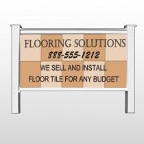 "Flooring 247 48""H x 96""W Site Sign"