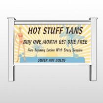 "Hot Beach Tan 299 48""H x 96""W Site Sign"