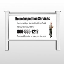 "Inspection 360 48""H x 96""W Site Sign"