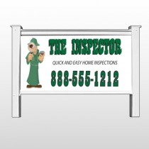 "Inspector 361 48""H x 96""W Site Sign"