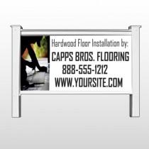 "Man Cutting Board 246 48""H x 96""W Site Sign"